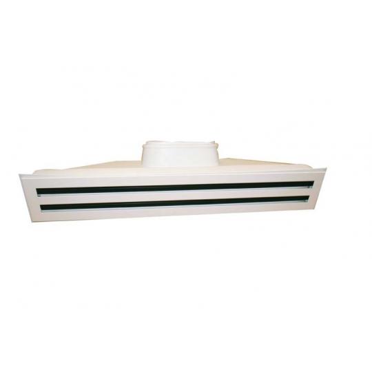 Grille Multi Fentes + Plenum Soufflage Gainable