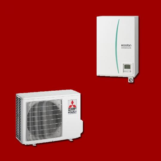 Pompe à Chaleur Air/Eau ERSC-VM2B / PUHZ-SW50VHA MITSUBISHI ELECTRIC