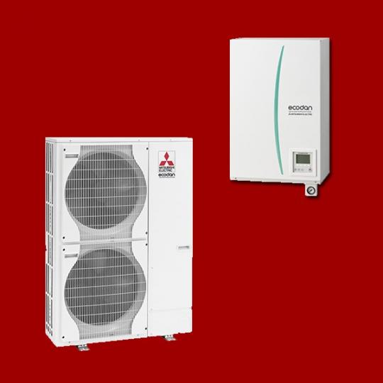 Pompe à Chaleur Air/Eau EHSC-YM9C / PUHZ-SHW140YHA MITSUBISHI ELECTRIC