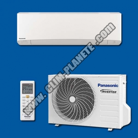 Climatiseur Réversible Inverter KIT CS-Z25VKEW Etherea Blanc PANASONIC