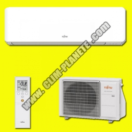Climatisation Mono Split Inverter Réversible  ASYG 14 KMTB ATLANTIC FUJITSU