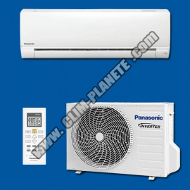 Climatisation Inverter Réversible  Mono Split KIT CS-FZ25WKE PANASONIC