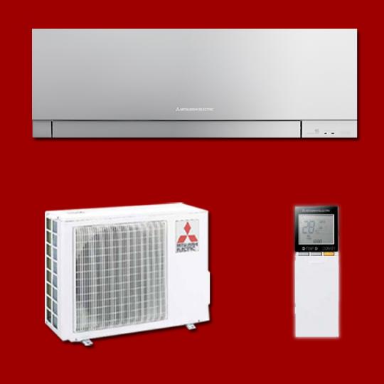 Climatisation Inverter Réversible  Mono Split MSZ-EF25VGS / MUZ-EF25VG MITSUBISHI ELECTRIC