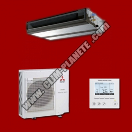Climatiseur Inverter Gainable PEAD-M100JA / PUZ-M100VKA MITSUBISHI ELECTRIC