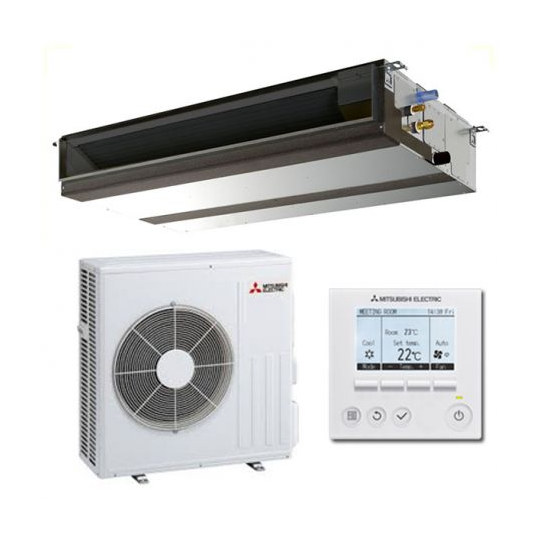 Pompe à Chaleur Gainable Inverter PEAD-M140JA / PUZ-M140VKA4 MITSUBISHI ELECTRIC