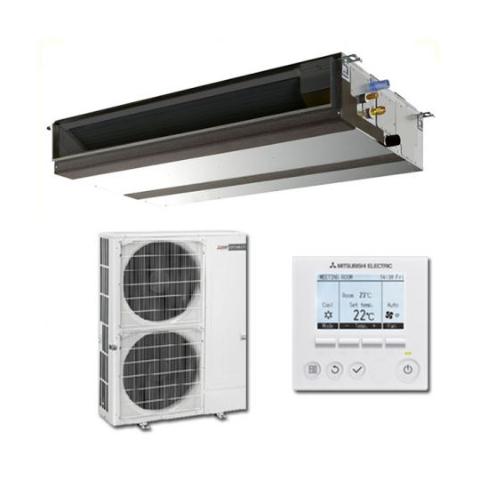 Climatisation Inverter Gainable PEAD-M100JA / PUHZ-SHW112VHA MITSUBISHI ELECTRIC