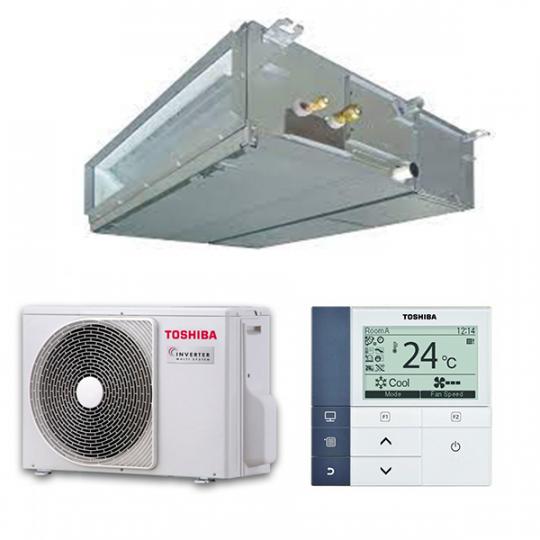 Pompe à Chaleur Inverter Gainable RAV-SP404ATP-E / RAV-SM406BTP-E TOSHIBA